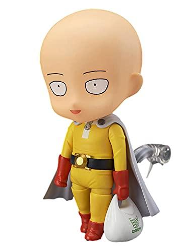 ANMINE One Punch Man Saitama PVC Q Consulte Figma # 310 # 575 Maestro Calvo Figuras de Anime Decoración de Escritorio Anime Regalos Juguetes Modelo Kits
