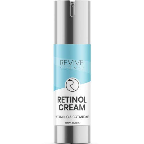 313VaSsYmmL - Revive Science Retinol Cream & Anti Aging Face Moisturizer - Clinically Proven Wrinkle Cream for Face with Retinol, Hyaluronic Acid, Vitamin C, Collagen - Face Cream for Women And Men - NET 1.7 FL OZ