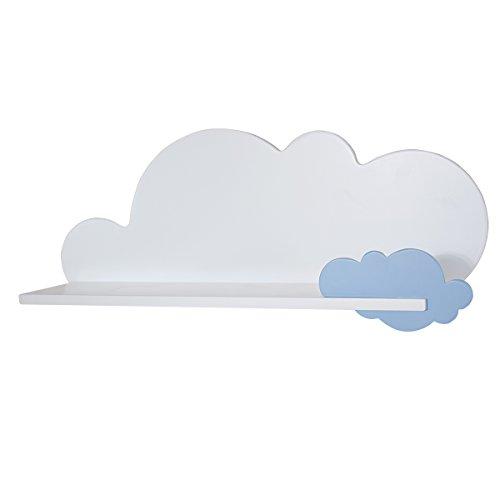 Mensola nuvola blu