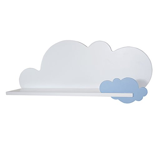 Bainba Estantería Infantil Nube (Nube, Azul)