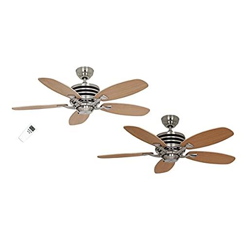 CASAFAN Ventilateur de Plafond, Eco Gamme 103 bu-ah Aile hêtre/érable