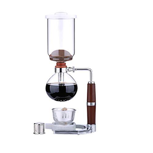 ASDQWER Mano Sifón Cafetera Pot, del vacío del café Brewer, sifón Durable,...