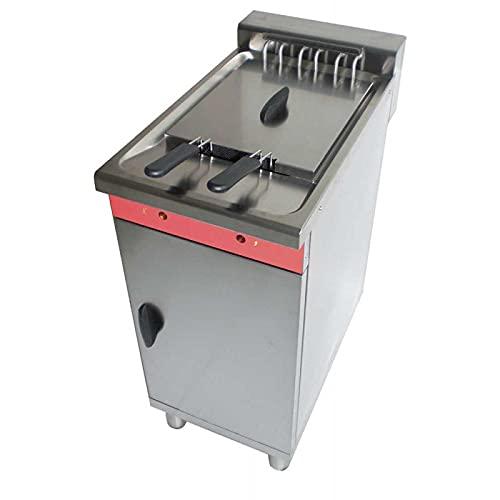 Freidora eléctrica sobre baúl especial Fast Food – 16 litros