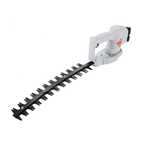 M-YN Cortasetos eléctrico Hedge inalámbrico Trimmer Li-Ion 24 V 42 cm Longitud de Corte 20 mm de separación Tooth (Size : Bending)