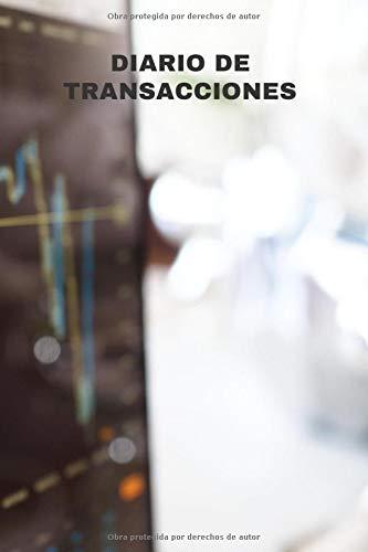 Diario de transacciones: diario de operaciones de forex | diario de operaciones de acción | seguimiento para anotar y analizar sus operaciones