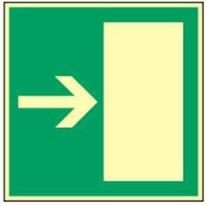 Vluchtwegbord: reddingsweg rechts of links Highlight folie 14,8 x 14,8 cm Helderheid: HIGHLIGHT 48 mcd/m2 Bestelaanwijzing: Dit artikel kan links of rechts worden gebruikt.