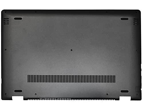 HT-ImEx - Carcasa inferior / parte inferior negra compatible con Lenovo Yoga 510-15IKB, 510-15IKB (80VC), 510-15ISK, 510-15ISK (80S8).