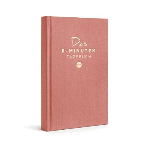 Das 6-Minuten Tagebuch PUR (Deutsche Version) | Dziennik wdzięczności, dziennik antystresowy | Codzienne 6 minut dla Twojego rozwoju osobistego, relaksu i lepszej uważności (Brudny róż, Niemiecki (German))