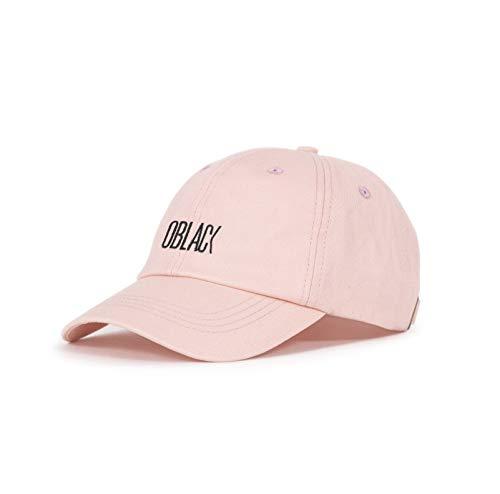 Oblack Gorras de Hombre Rosa Beisbol Ajustable con Visera Curvada para Mujer...