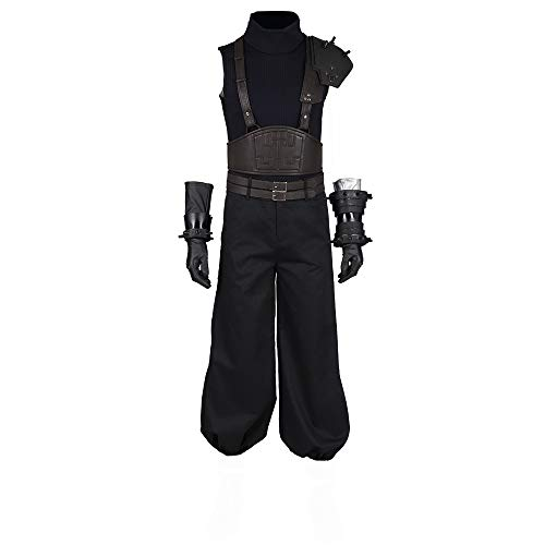 Final Fantasy VII Remake Cloud Strife Halloween Cosplay Costume Full Set