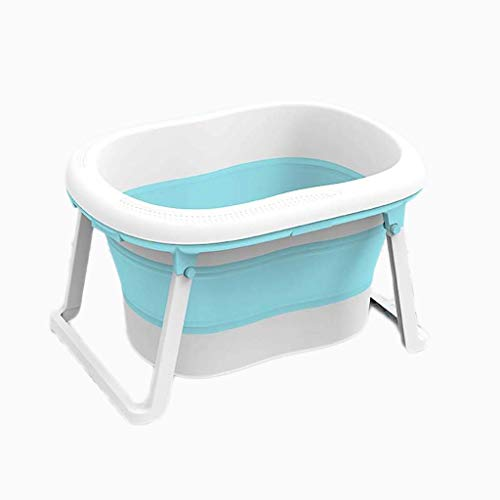 LNDDP Baby Portable Folding Bathtub,Bathroom Kids Hot Bath Tub,Freestanding Swimming Pool Bathtub SPA Bath Bucket, Best Gifts