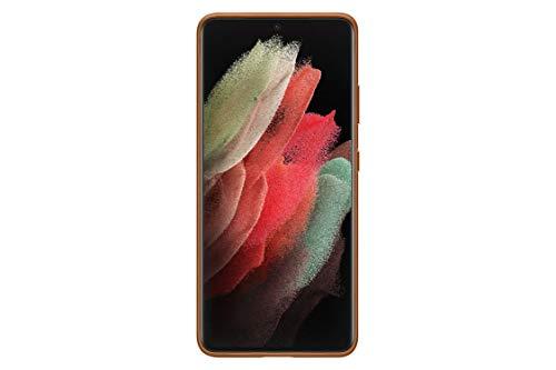 Samsung Leather Cover EF-VG998 für Galaxy S21 Ultra 5G, Brown - 6.9 Zoll