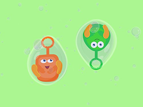 Lustige Blasen mit Bloop und Loop