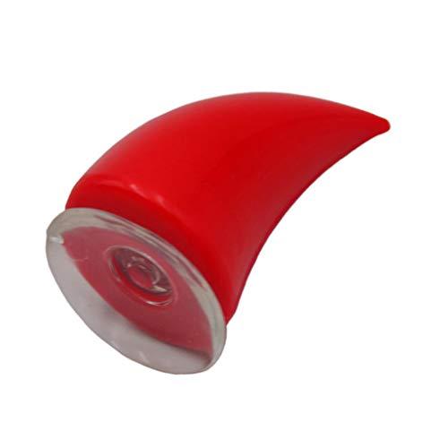 B Blesiya Casco de Moto Devil Horns Red Helmet Ears