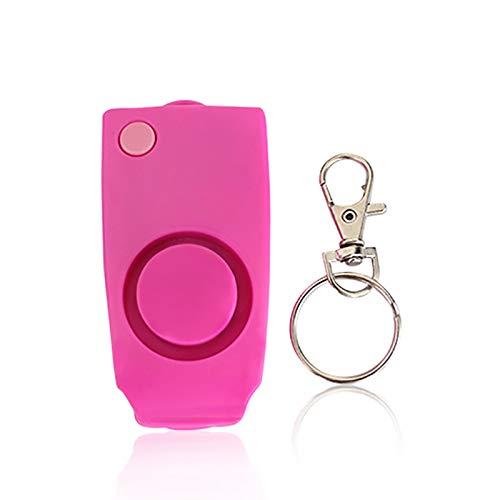 MOC Persönlicher Alarm 130 db Panikalarm schlüsselanhänger mit Schlüsselanhänger Taschenalarm für Frauen Senioren