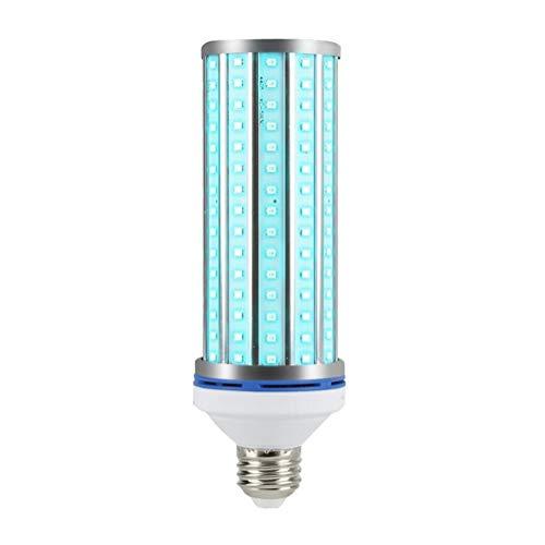 OOFAY Maíz Lámpara Germicida Llevado, UV Lámpara Germicida De Desinfección E27 Lámpara UV Se Puede Utilizar para El Hogar, La Oficina, Se Puede Programar con Un Control Remoto