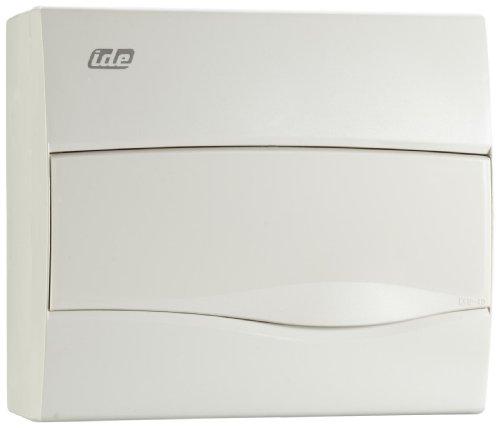 Unitec 47106 AP - Caja de distribución (IP 40, 1 fila, 12 módulos), color gris