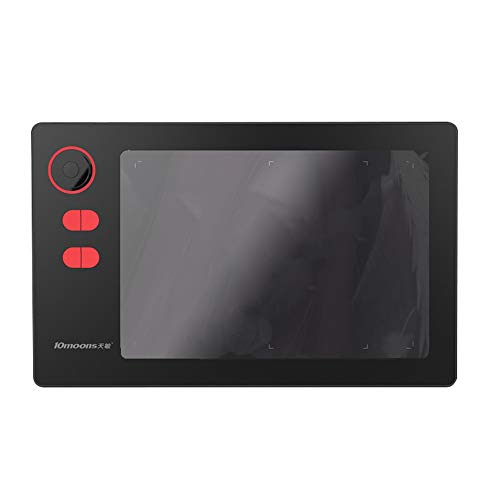 Ajcoflt Tableta gráfica profesional G20 8192 Niveles Tableta de dibujo digital sin necesidad de carga Tableta grafische ultraligera Pen