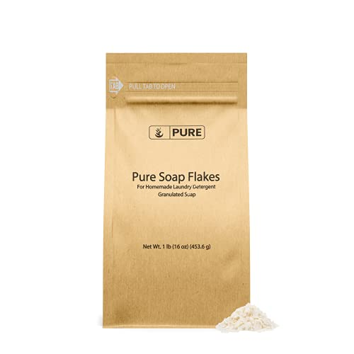Soap Granule Flakes (1 lb) Plant Based, Eco Friendly, For Homemade Laundry...