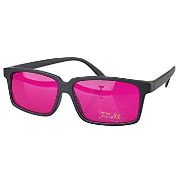 Square Colorblindness Glasses Color Blind For Man Red Green Color Blind Safety Vision + Case Box