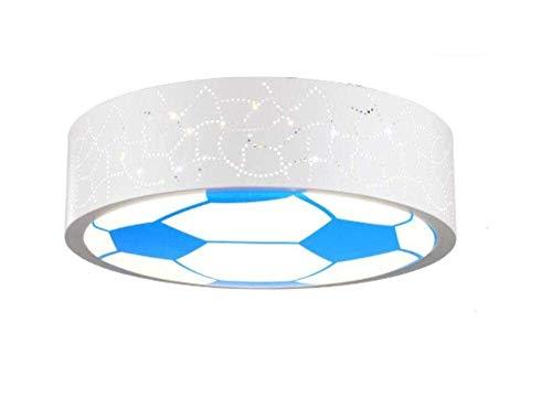 PANNN Kinderzimmer Lampe LED Deckenleuchte für Jungen und Mädchen und einladende Zimmer Licht Energie Cartoon Licht Fußball Eye Care Kinder (400mm*90mm), Leuchten, Polarität dimmen