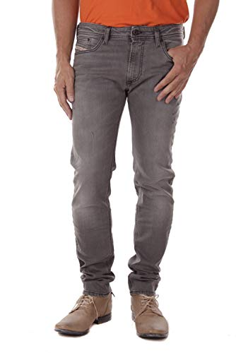 Diesel Herren Thavar-XP R29V8 Jeans (33W / 32L, Grau)