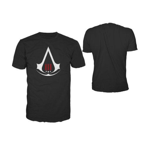 Assassin's Creed III -S- Crest Logo Black