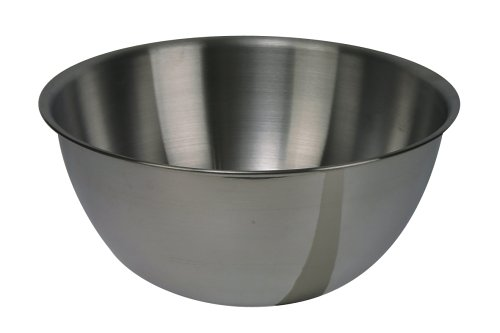 Dexam 17830427 Stainless Steel mixing bowl, 5.0 Litre, Silver