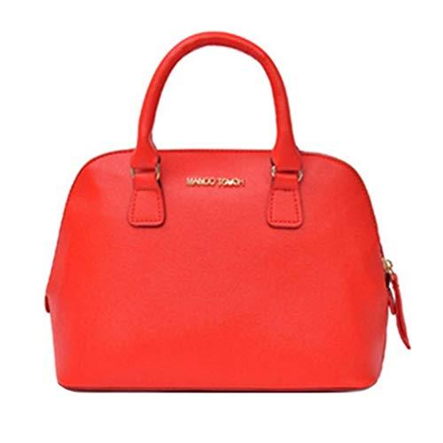KinshopS Elegante Palmare Donne Shell Bag Lady Borsa A Tracolla All-match Crossbody Bag Elegante Tinta Unita Per La Scuola Di Lavoro