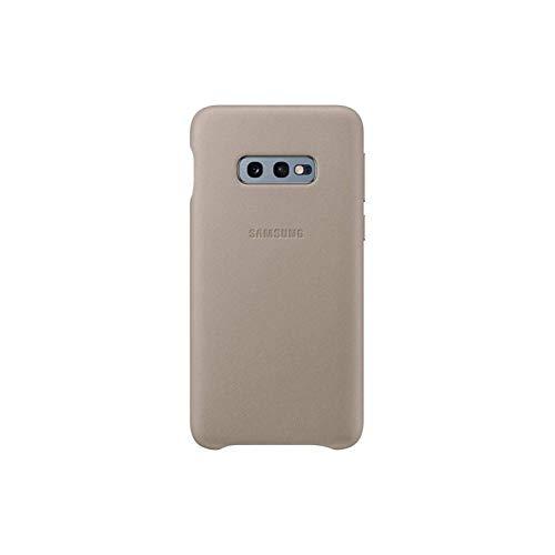 Leather Cover für Galaxy S10e Grau