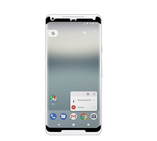 PureGear HD Clear Tempered Glass Screen Protector for Google Pixel 2 XL w/Self Alignment Installation Tray, Touch and Swipe Precision, Premium Protection Guard, Case Friendly
