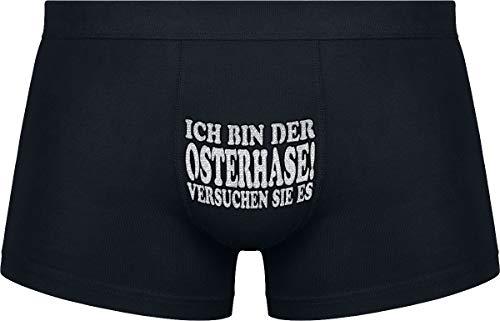 Herr Plavkin | Ich Bin der Osterhase! (versuchen sie es) | Schwarze Farbe | Das Klassische Modell.