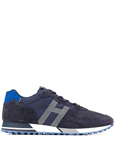 Hogan Luxury Fashion Herren HXM3830AN51N4X50C5 Blau Wildleder Sneakers | Ss21