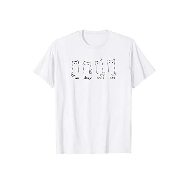Un Deux Trois Cat T-Shirt