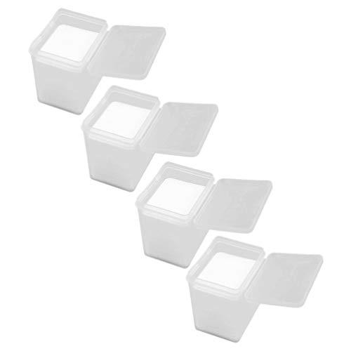 PIXNOR Almohadillas de Algodón para Extensiones de Pestañas para Extensión de Pestañas sin Pelusas de Algodón para Extensiones de Pestañas 800 Pzas