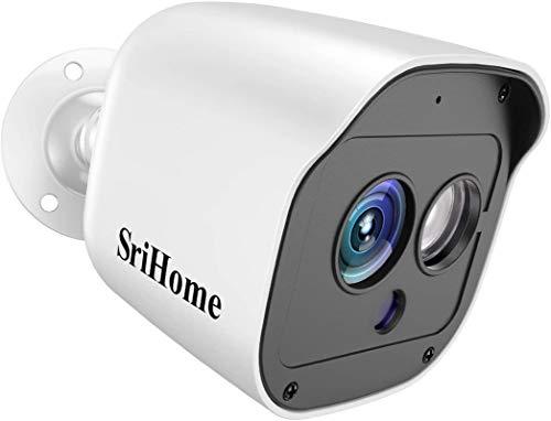 Niluoye Telecamera WIFI Esterno, 1296P WI-FI Senza Fili IP Camera Victure di Sorveglianza, Telecamera Statica Impermeabile e Antipolvere, Audio Bidirezionale, FHD Visore Notturno, Sistema d'allarme