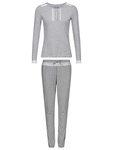 Vive Maria Gray Dawn Pyjama Grey, Größe:XL