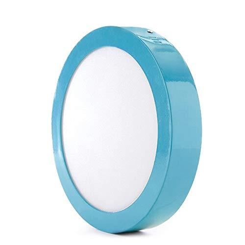 Greenice | Plafón LED Circular Superficie Ø220Mm 18W 1450Lm 30.000H Azul |...