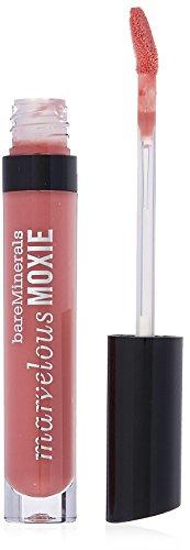 bareMinerals Marvelous Moxie Lip Gloss, Rebel, 0.15 Fluid Ounce