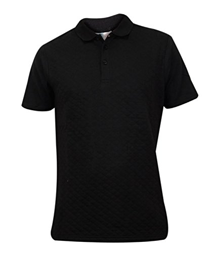 Genetic Apparel - Polo - Homme * taille unique - - GA42 - Black - Large