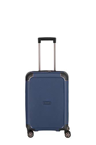 """TITAN """"COMPAX""""-Trolleys von TITAN®: stabile Hartschalen-Koffer in futuristischer Optik in 3 Farben Koffer, 55 cm, 43 Liter, Navy"""