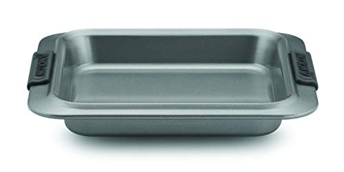 Anolon Advanced Nonstick Baking Pan / Nonstick Cake Pan, Square - 9 Inch, Gray