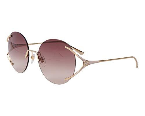 Gucci GG-0645-S 002 - Gafas de sol (efecto degradado), color dorado y blanco
