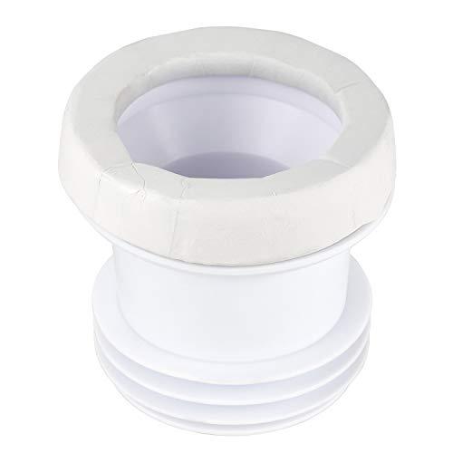 Musurjoy Upgrade Seal Toilet Wax Ring | Toilet Installation & Repair | Elastic Wax –Free Bolts Toilet Gasket | Self-Adhesive Sealant Tape | Waterproof Mildew-Proof Caulk Tape