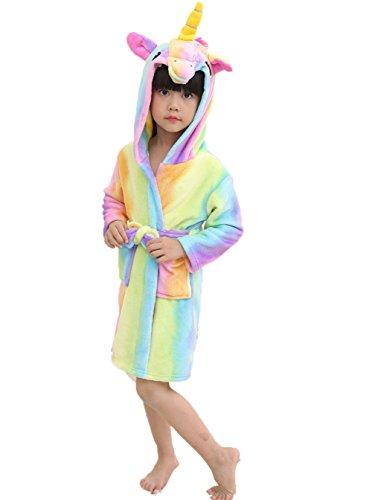 Z-Chen Bata para niños - Forma de Unicornio, Multicolor, 4-5 Años, (Tamaño de Manufactura 105/120)