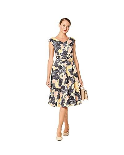 Burda Schnittmuster, 6236, Kleid selber nähen [Damen, Gr. 34-44] Level 3 für Fortgeschrittene