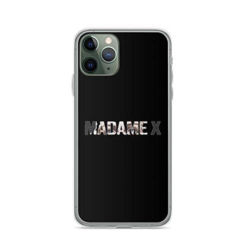 Custodie per telefoni trasparenti in TPU anti-caduta compatibili con iPhone 12/12 Pro Max 12 mini 11 Pro Max SE X XS Max XR 8 7 6 6s Plus Custodie-Madame X - Madonna