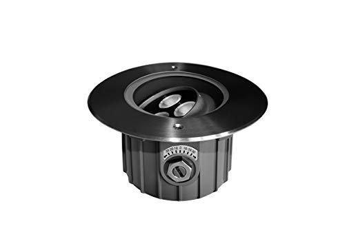 Lumihome Spot encastrable LED Blanches 230 V Rond orientable pour abords de Piscine