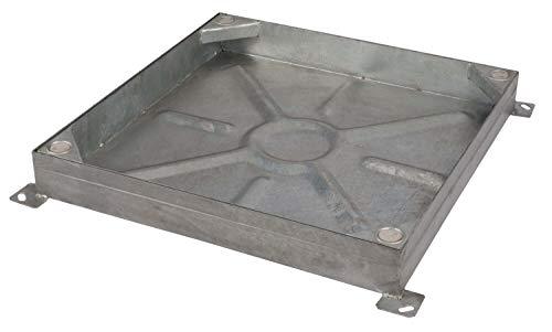 Ductile Eisen B125 12,5 Tonnen Heavy Duty Schachtdeckel Gesamtgr/ö/ße inkl. Rahmen, 675 x 525 mm Inspektion nur auf Festland Clark Drain CD762KMB 600 x 450 x 40 mm