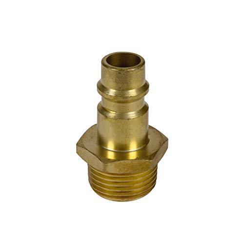Original Einhell Gewindestecknippel R3/8 Zoll Außengewinde (Kompressoren-Zubehör)
